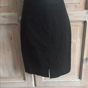 Banana Republic Black Skirt NEW Woman's 0 Petite